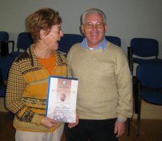 Irena Fekonja, načelnica Odseka za varstvo narave, prejela Bronasto priznanje Angele Piskernik