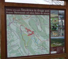 Slovenska Istra: Smokvica-Kuk-Movraž-sv. Kirik-Vela Griža-Smokvica - 29. november 2009