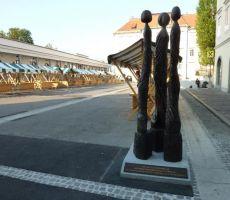 spomenik pogumnim Ljubljančankam