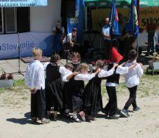 Vsi otroci podružnične šole Sele so nastopali