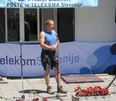 Predsednik PD PT Celje Gojko Šmid