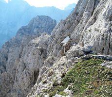 Pogled na grebensko pot