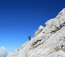 Tudi nekaj planincev je bilo na poti proti vrhu