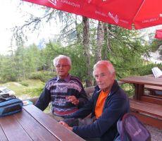 Najstarejša udeleženca -Stanko Dolenc in Stanko Jaki