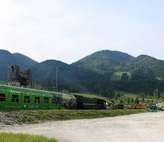 Vlak je odpeljal na Primorsko