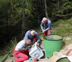 Zbiralnik vode za Tičarjev dom