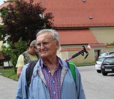 Vodnik iz PD HPiHT Sljeme iz Zagreba