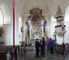 Oltar s simbolom sv.očesa
