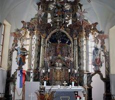Glavni oltar v cerkvi Sv.Uršule