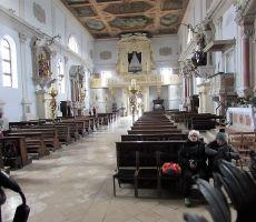 Notranjost stolnice