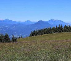 Pogled na KS . Alpe in na Peco ter Uršljo goro