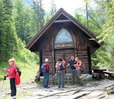 V tej kapeli je maševal Fran Saleški Finžgar