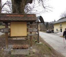 Začetek v vasi Kulovec