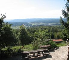 Pogled na dolenjske in notranjske gore