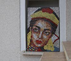 Tudi mozaik je njegovo delo