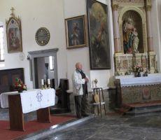 Notranjost cerkve je res lepa