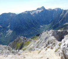 Pogled na dolino Vrata